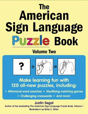 The American Sign Language Puzzle Book, Volume 2 Cover Image