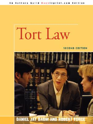 Tort Law: Second Edition Cover Image