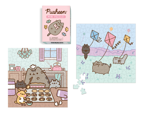 Pusheen Mini Puzzles (Miniature Editions) Cover Image