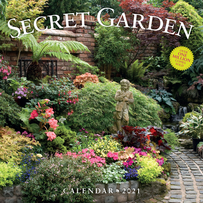 Secret Garden Wall Calendar 2021 Cover Image