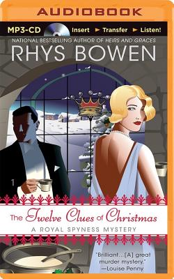 The Twelve Clues of Christmas (Royal Spyness Mysteries) Cover Image