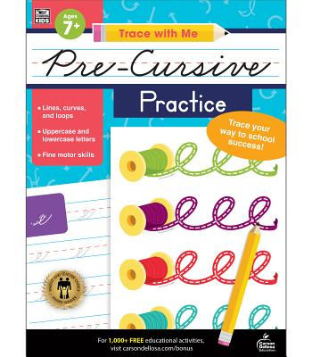 Trace with Me Pre-Cursive Practice Cover Image