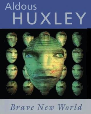 Brave New World Aldous Huxley - Large Print Edition Cover Image