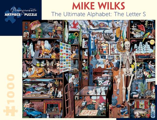 Mike Wilks: The Ultimate Alphabet: The Letter S 1,000-Piece Jigsaw Puzzle Cover Image