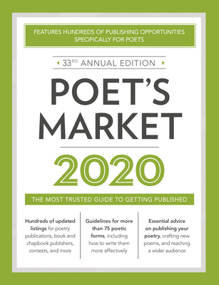 Poet's Market 2020: The Most Trusted Guide for Publishing Poetry Cover Image
