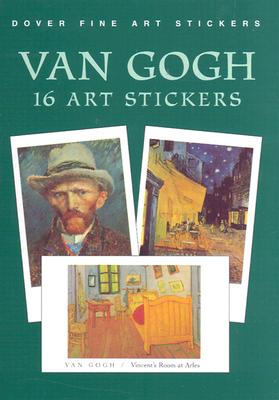 Van Gogh: 16 Art Stickers (Dover Art Stickers) Cover Image