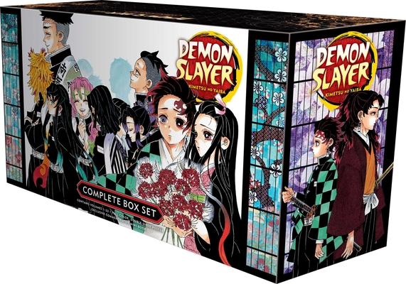 Demon Slayer Complete Box Set: Includes volumes 1-23 with premium (Demon Slayer: Kimetsu no Yaiba) Cover Image