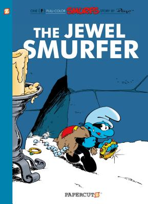 The Smurfs #19: The Jewel Smurfer (The Smurfs Graphic Novels #19) Cover Image