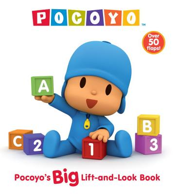 Pocoyo's Big Lift-And-Look Book Cover
