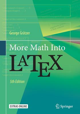 More Math Into Latex Cover Image