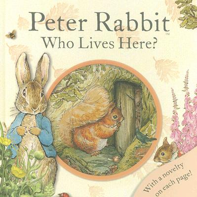 Peter Rabbit Who Lives Here? Cover