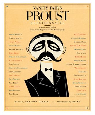 Vanity Fair's Proust Questionnaire Cover