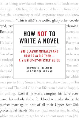 How Not to Write a Novel Cover
