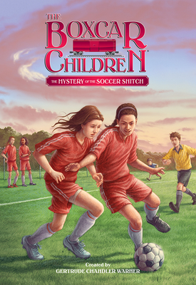 Cover for The Mystery of the Soccer Snitch (The Boxcar Children Mysteries #136)