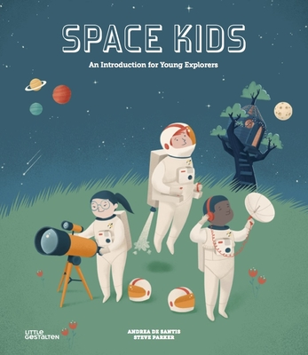 Space Kids: A First Introduction for Little Explorers Cover Image