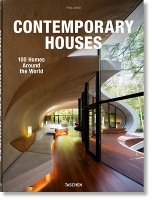 Contemporary Houses. 100 Homes Around the World Cover Image