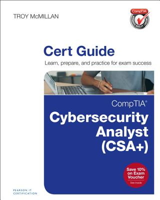 Comptia Cybersecurity Analyst (Cysa+) Cert Guide (Certification Guide) Cover Image