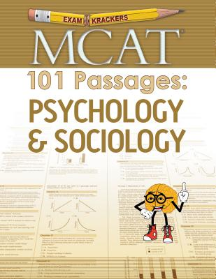 Examkrackers MCAT 101 Passages: Psychology & Sociology (1st Edition) Cover Image
