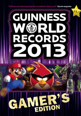 Guinness World Records 2013 Gamer's Edition Cover