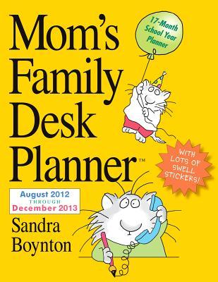 Cover for Mom's Family Desk Planner 2013
