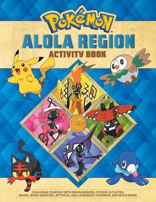 Pokémon Alola Region Activity Book Cover Image