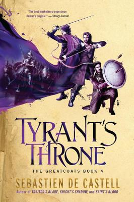 Tyrant's Throne (The Greatcoats #4) Cover Image
