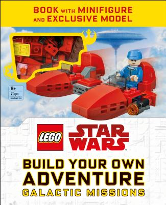 LEGO Star Wars Build Your Own Adventure Galactic Missions (LEGO Build Your Own Adventure) Cover Image