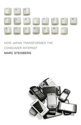 The Platform Economy: How Japan Transformed the Consumer Internet Cover Image