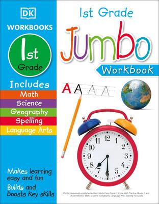 Jumbo 1st Grade Workbook Cover Image