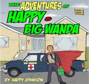 The Adventures of Happy & Big Wanda Cover Image