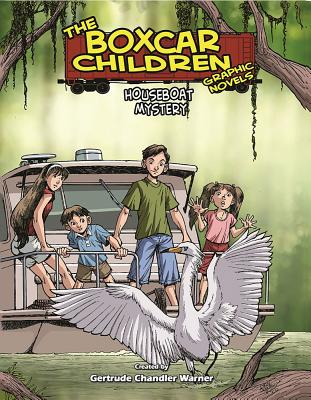 Houseboat Mystery (The Boxcar Children Graphic Novels #16) Cover Image