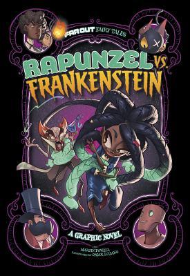 Rapunzel vs. Frankenstein: A Graphic Novel (Far Out Fairy Tales) Cover Image