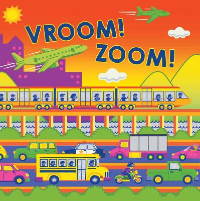 Cover for Vroom! Zoom! (Fluorescent Pop!)