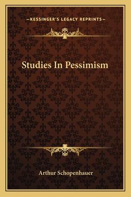 Studies in Pessimism Cover Image