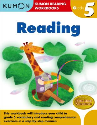 Grade 5 Reading (Kumon Reading Workbooks) cover