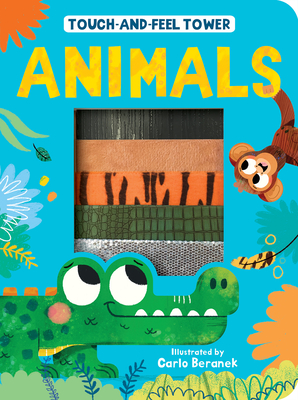Touch-and-Feel Tower Animals Cover Image