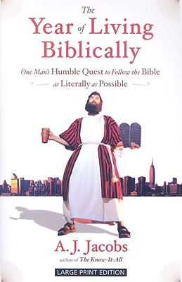 The Year of Living Biblically Cover