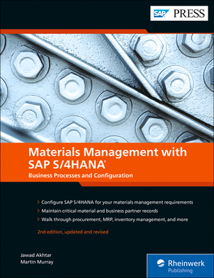 Materials Management with SAP S/4hana: Business Processes and Configuration Cover Image