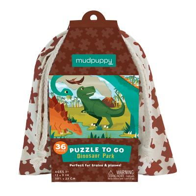 Dinosaur Park Puzzle to Go Cover Image