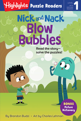 Nick and Nack Blow Bubbles (Highlights Puzzle Readers) Cover Image