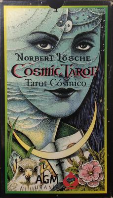 Cosmic Tarot: 78-Card Deck Cover Image