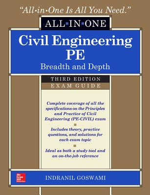 Civil Engineering All-In-One PE Exam Guide: Breadth and Depth, Third Edition (All in One) Cover Image
