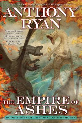 The Empire of Ashes (The Draconis Memoria #3) Cover Image
