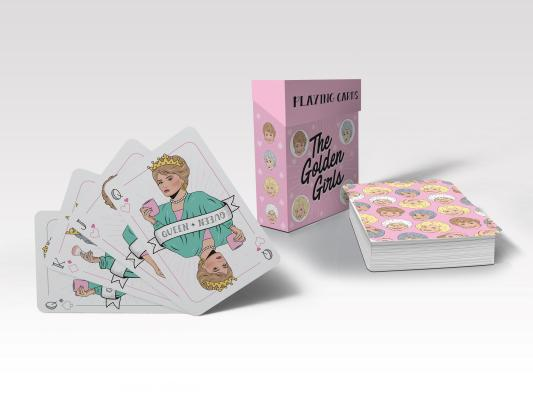 Golden Girls Playing Cards Cover Image