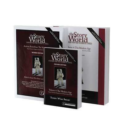 Story of the World, Vol. 4 Bundle, Revised Edition: The Modern Age: Text, Activity Book, and Test & Answer Key Cover Image