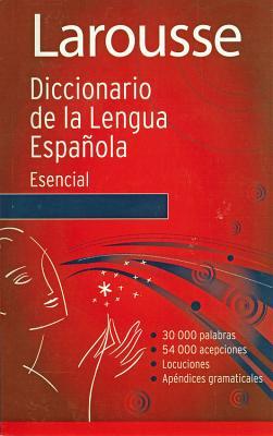 Diccionario Esencial de la Lengua Espanola Cover Image