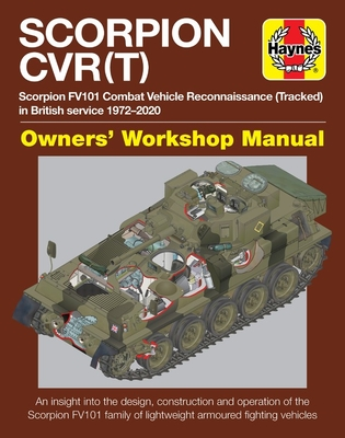 Scorpion CVR(T): Scorpion FV101 Combat Vehicle Reconnaissance (Tracked) in British service 1972-2020 * An insight into the design, construction and operation of the Scorpion FV101 family of lightweight armoured fighting vehicles (Owners' Workshop Manual) Cover Image