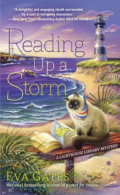 Reading Up a Storm (A Lighthouse Library Mystery #3) Cover Image
