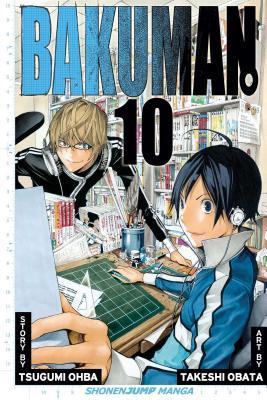 Bakuman, Volume 10 Cover