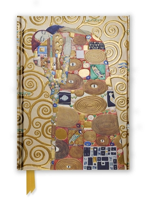 Klimt: Fulfilment (Foiled Journal) (Flame Tree Notebooks #51) Cover Image